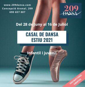 Casal Dansa Estiu 2021